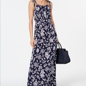 Michael Kors navy blue maxi dress size XL